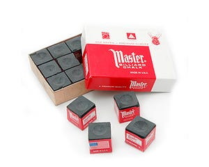 Master Black Chalk - 12 pcs Box