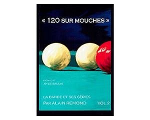 Billiard Book 120 sur Mouches by Alain Remond