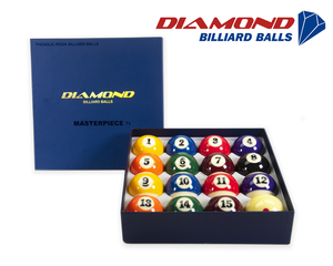 Diamond Masterpiece Pool Billiard Balls - 57,2mm