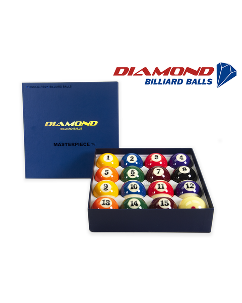 Diamond Masterpiece Pool Billiard Balls - 57,2mm