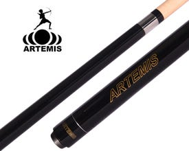 Artemis Solid Black Pool Cue