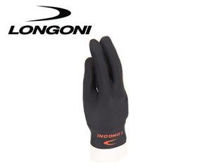 Longoni Black Billiard Glove - Right Hand