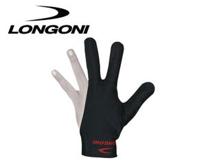 Longoni Black Billiard Glove - Left Hand