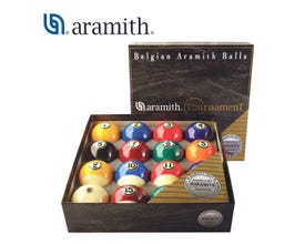 Aramith Tournament poolballenset