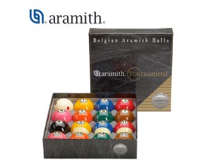 Aramith Tournament Pro-Cup TV 57.2 mm Pool Balls