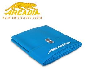Predator Arcadia Reserve Professional Pool Table Cloth - Pre-cut Set