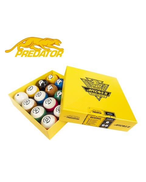 Predator Arcos II Pool Balls