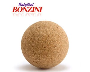 Bonzini Tafelvoetbal balletjes natuurkurk - voetbaltafel ballen