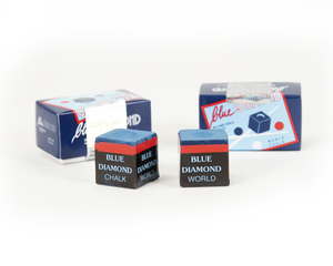 Blue Diamond Billiard Chalk - 2 pcs Box