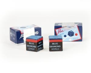 Blue Diamond Billiard Chalk - 2 pcs Box