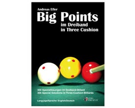 Big Points in 3-Cushion Billiard Book by Andreas Efler