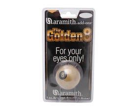 Aramith Golden 8 Ball - 57,2mm