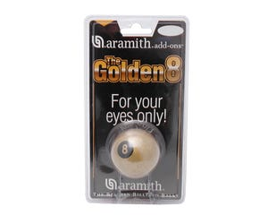 Aramith Golden 8 Ball - 57,2mm