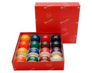 Aramith Continental 57,2 mm - US Pool Billiard Balls