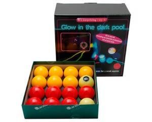 Aramith Glow in the Dark Kit 50,8 mm - 8 Pool Balls