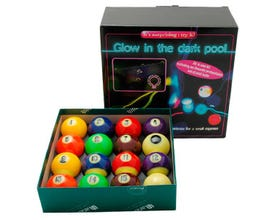 Aramith Glow in the Dark Kit 57,2 mm - US Pool Biljartballen