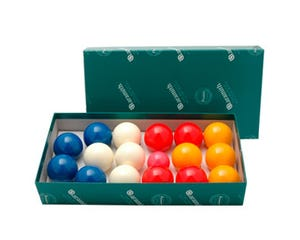 Aramith Petanque Billiard Balls Set - 52,4 mm / 4 Players