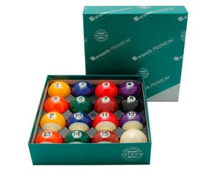 Aramith Premium 57,2 mm - US Pool Billiard Balls