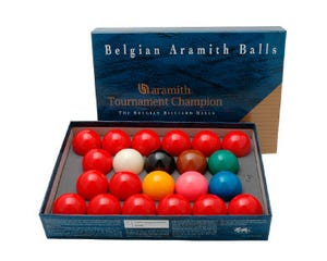 Aramith Tournament Champion 52,4 mm - Snooker Ball set