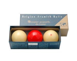 Super Aramith De Luxe Carom Billiard Balls