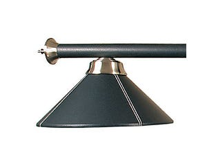 Black Vinyl Billiard / Pool Table Light
