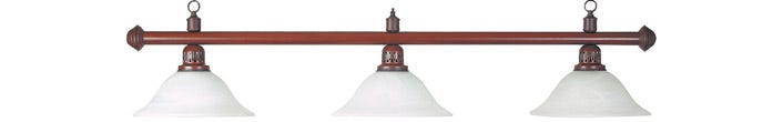 Luminaire Billard Tradition Marron - Lampe billard