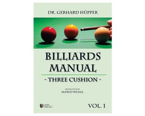 Billiard Manual 3C by Dr. G. Hüpper  - 3-Cushion Billiard Book