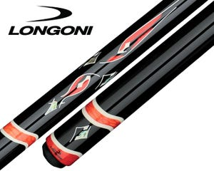 Longoni Custom Pro Black Pearl II Billard Queue by Jean Reverchon