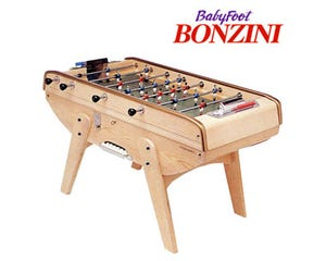 Bonzini B60 Coin-Op Foosball / Table Soccer - Natural Wood
