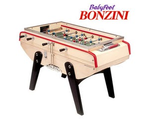 Bonzini B60 Coin-Op Foosball / Table Soccer - Glass Top