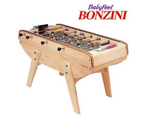Bonzini B90 Foosball / Table Soccer - Natural Wood