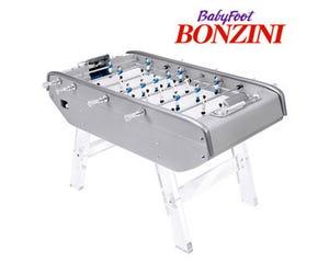 Bonzini B90 Foosball / Table Soccer - Grey / Transparent