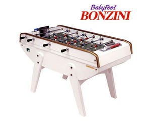 Baby Foot Bonzini B90 Laqué Blanc