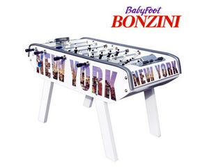 Baby Foot Bonzini B90 New York Blanc