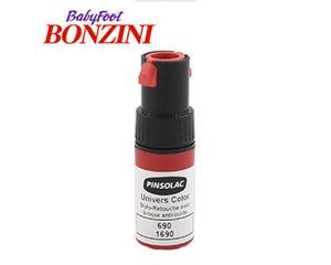 Cepillo rojo para retocar jugador de fútbolin Bonzini