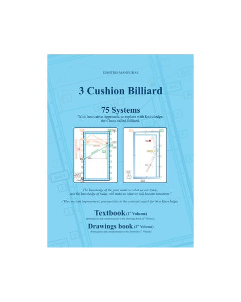 3 Cushion Billiard 75 Systems - Dimitris Manouras (Englisch)
