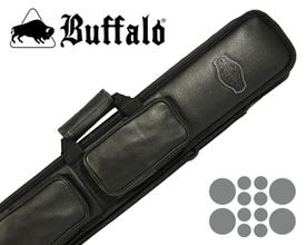 Buffalo De Luxe 4x8 Billard Queue Tasche - Schwarz