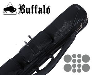 Buffalo High End Black - 4x8 Cue Case