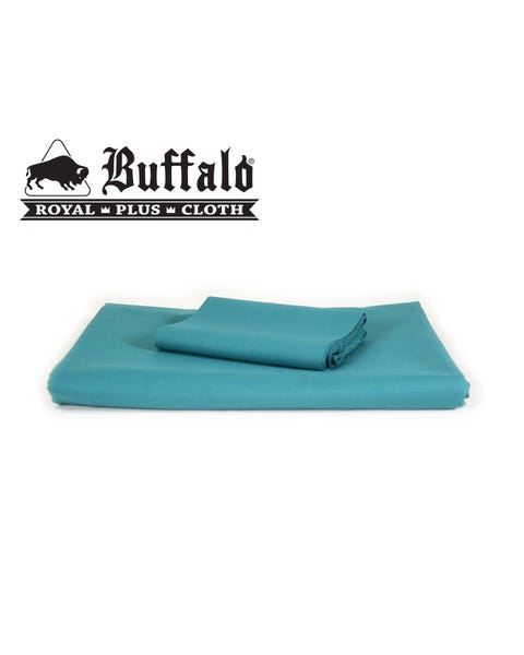 Buffalo Royal Plus Blue/Green - Pre-cut set with rails