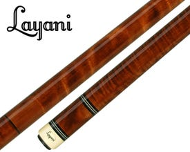 Layani Brown Cameleon Carom and 3-Cushion Billiard Cue