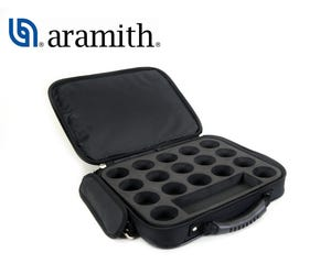 Aramith Nylon Ball case for 8 Pool Balls - 50,8 mm