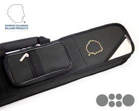 Ceulemans Authentic Cue Case 2x4 - Black