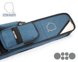 Ceulemans Authentic Cue Case 2x4 - Navy