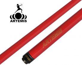 Queue de Billard Américain Artemis Enfant 125cm Rouge Perle