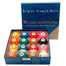 Billes/Boules de Billard Américain Aramith Pro-Cup TV 57,2 mm