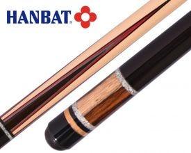 Hanbat Plus-K55 Carom and 3 Cushion Billiard Cue - Red/Blue