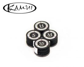 Suela/Casquillo Kamui Clear Black Laminada Para Taco de Billar