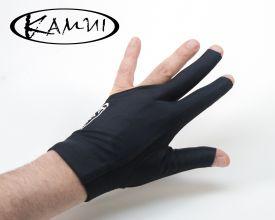 Guante de Billar Kamui Quick Dry Negro - Mano Izquierda