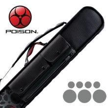 Taquera Poison Armor 3x4 para Tacos de Pool Negra