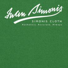 Simonis 4000 Englisch Pool Billardtuch - Englisch grün